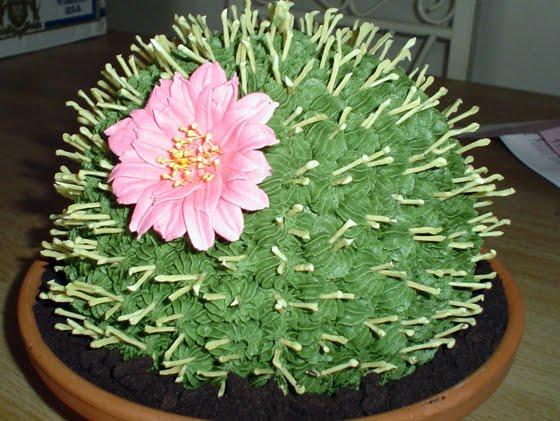 торты кактус фото
