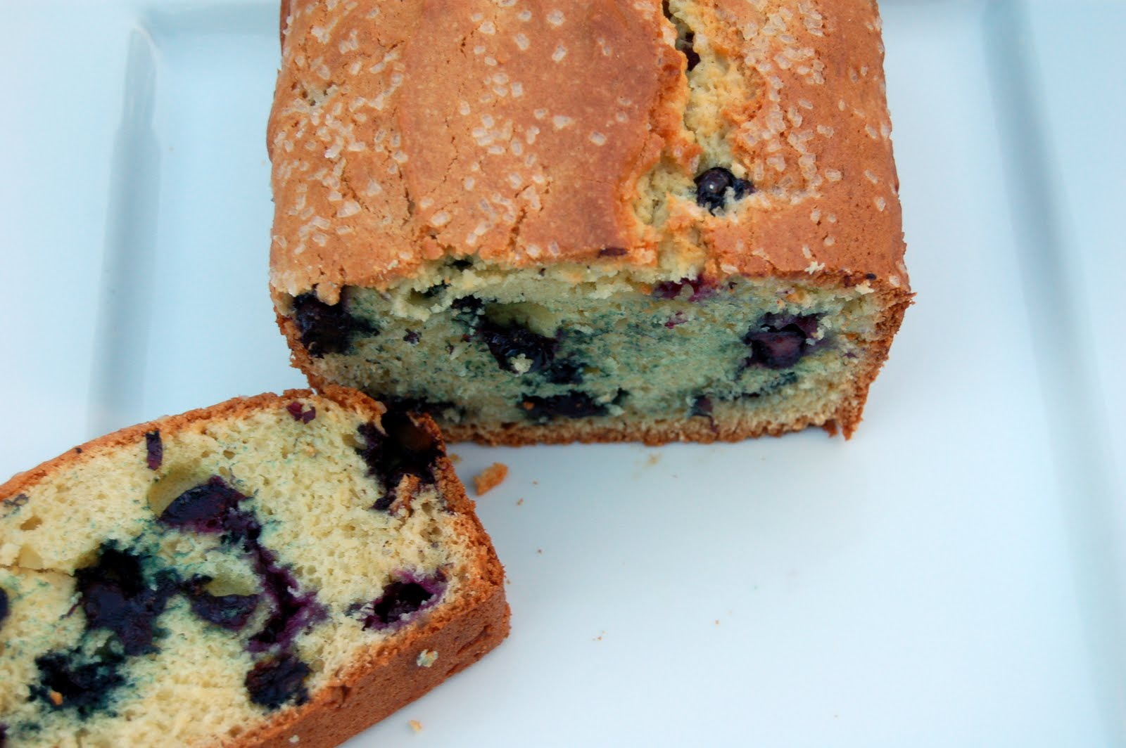 Souffle Bombay: Blueberry Tea Cake