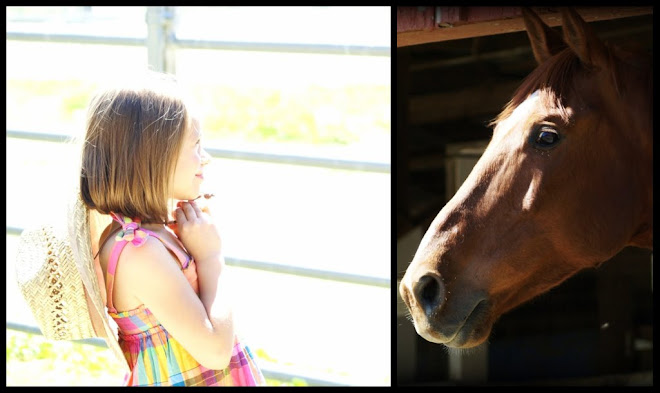She loves horses...