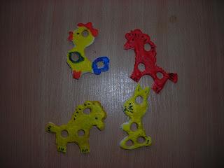 DSCN2839  На конкурс! Елочные игрушки из соленого теста от Владика и мамы Оли