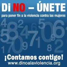 NO + VIOLENCIA EN CONTRA DE LAS MUJERES