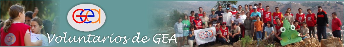 Voluntarios de GEA