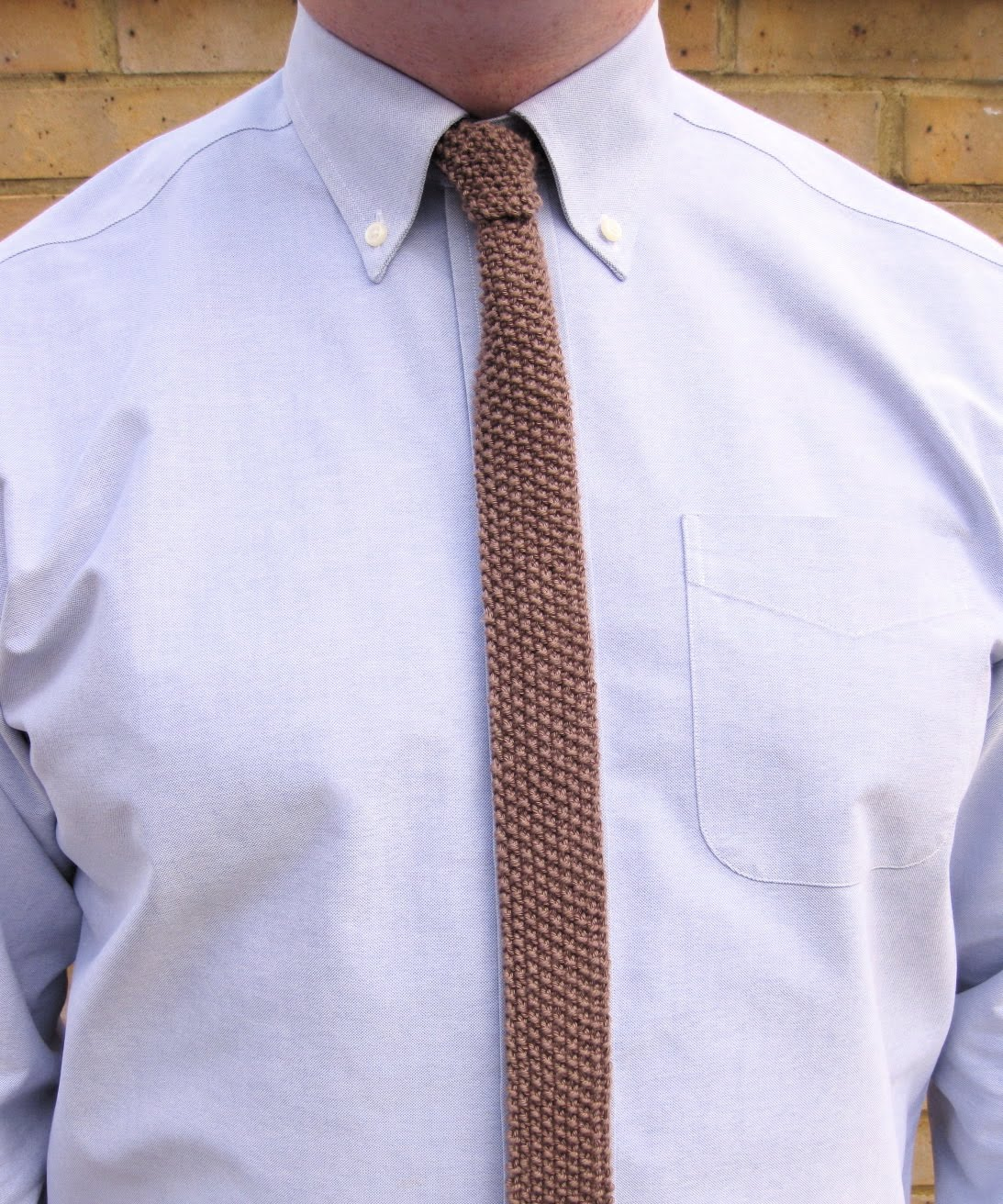 How To Knit A Tie Pattern : Jolly Hockey Sticks!: all tied up