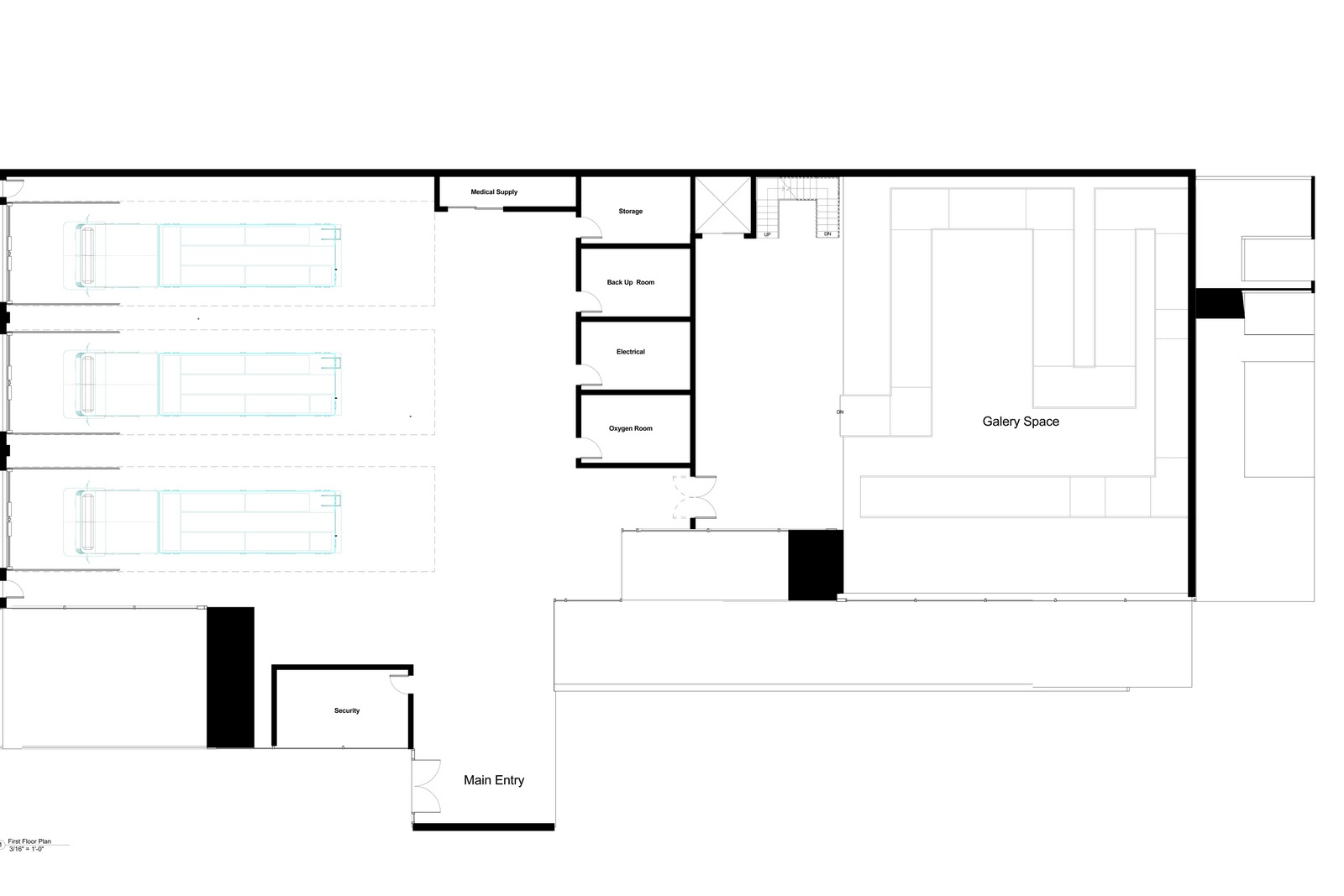 Arch 3611 theoretical design fire station floor plans proposed for Fire station floor plans design