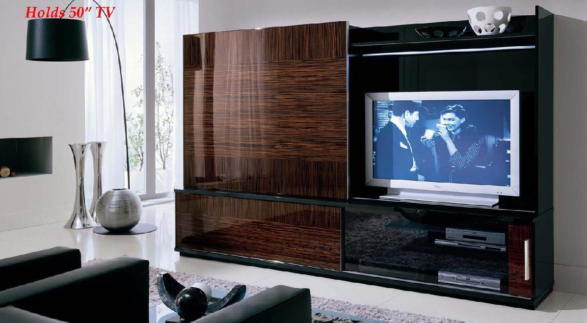 Store of modern furniture in nyc blog cortina italian made entertainment wall unit - Modern tv wall unit ...