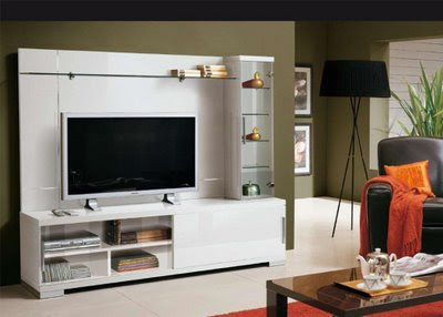 Store of Modern Furniture in NYC | Blog: Capri White Finish Wall Unit