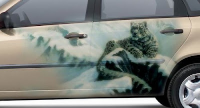 Paintings on Cars