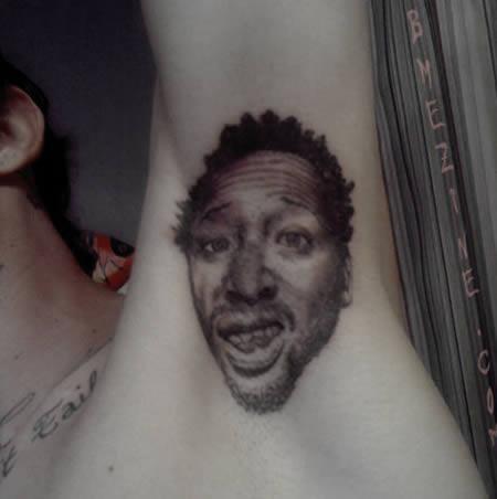 12 Most Bizarre Armpit Tattoos Around The World