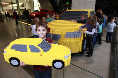 Amazing LEGO Replica of the BMW X1 Made by Kids