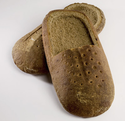 Bread Shoes Which Are Eatable