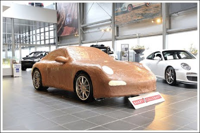 Porsche Made with Chocolate