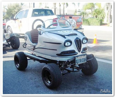 Amazing Cars Made With Bumpers