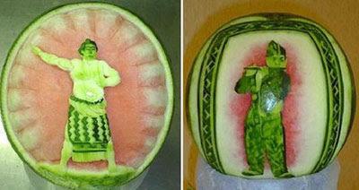 Amazing Watermelon Art