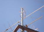 Antena VHF, modelo QFH