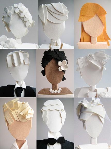 Как сделать куклу своими руками из бумаги объемную