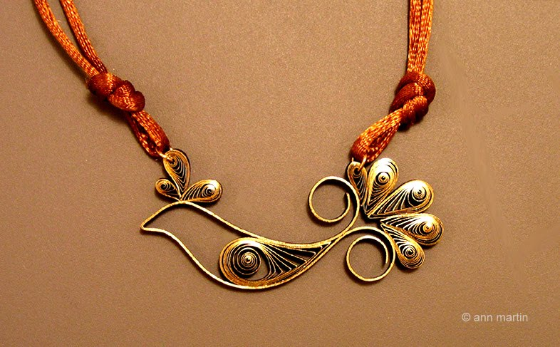 All things paper quilled bird pendant quilled bird pendant aloadofball Images