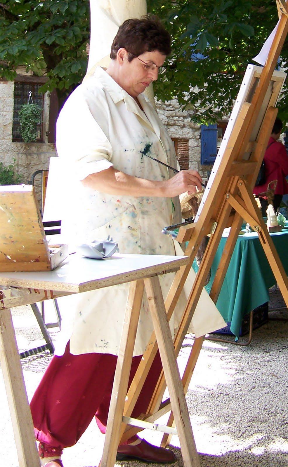 ML peint dans la rue