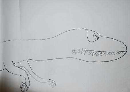 Young Allosaurus