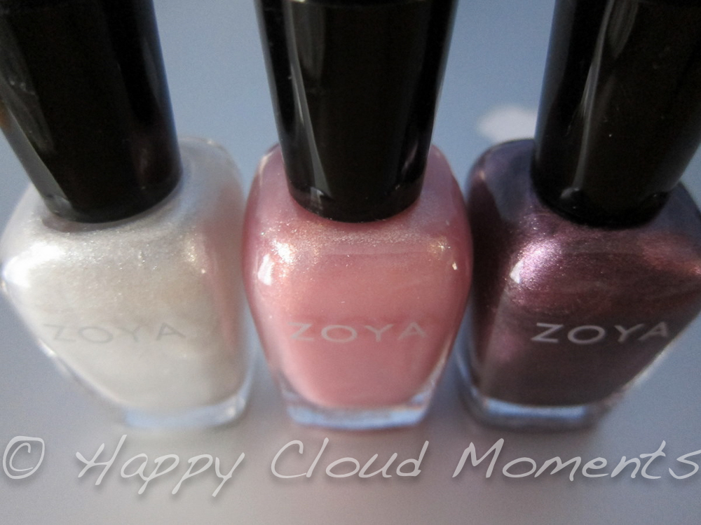 Happy Cloud Moments: ~ Zoya Nail Polish Haul and First Manicure with ...
