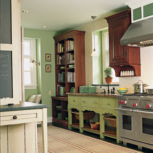If you want to the old kitchen a new look and spend very little money