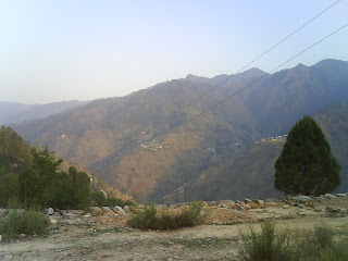 View of Village Thaapla and Kamdai