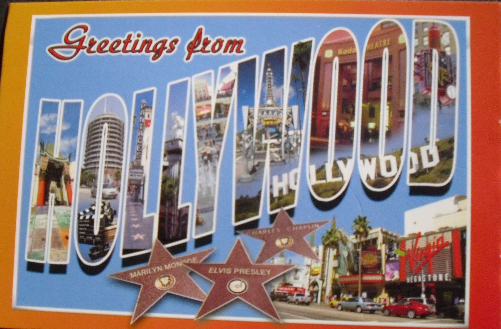 Postcards For Sam Greeting From Hollywood