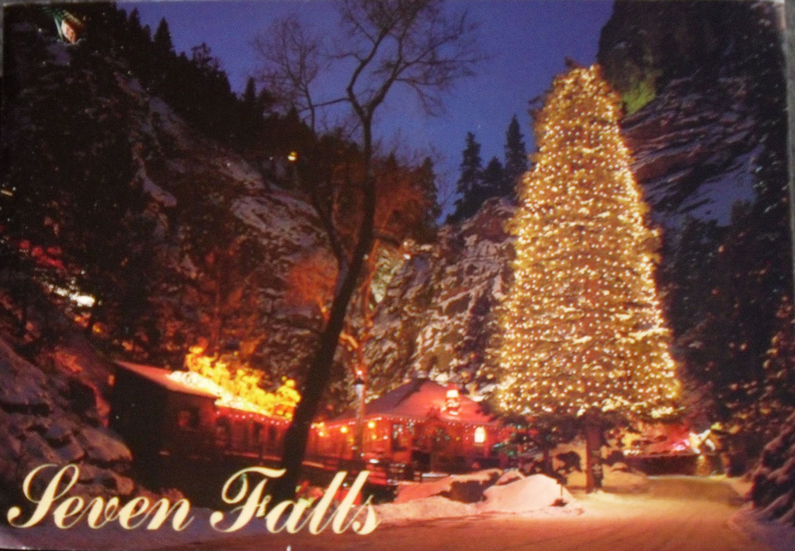 Postcards For Sam Christmas At Seven Falls