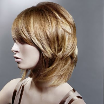 Short modern asymmetrical haircuts for winter spring 2010