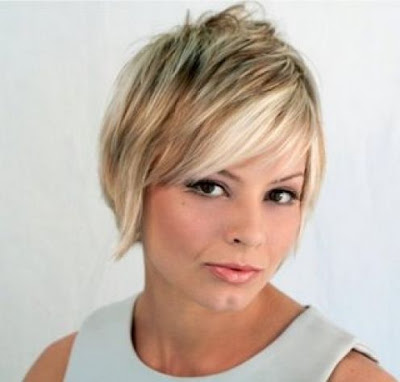 Cute Blonde Haircuts For Girls. Short Blonde Hair 2009