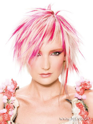 Pink and Short Hairstyles Trends for Summer 2010