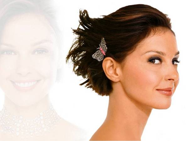 how she presents herself, choosing the right short wedding hairstyle