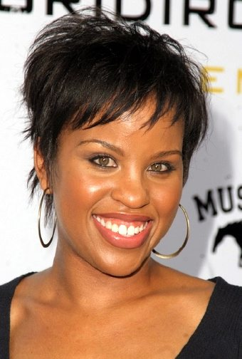 black short hair styles. Many different styles