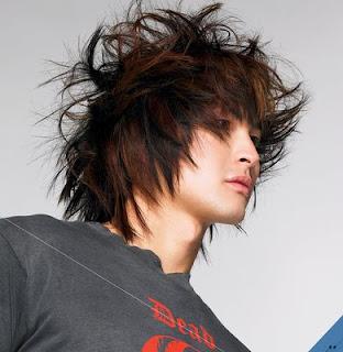 Straight Forward, So To Speak - Wild Male Hairstyles
