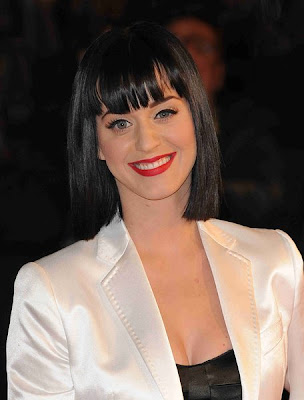 Katy Perry Classic Bob Hairstyle