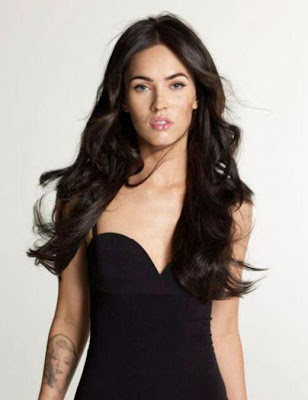Megan Fox Latest and Glamorous Long Hairstyles