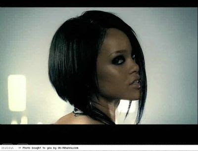 rhiana hairstyle. makeup rihanna haircut 2007