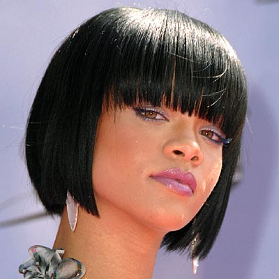 Rhianna and different hair do s