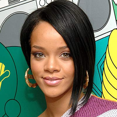 Rihanna Latest Hairstyle Trends 2009: Rihanna short