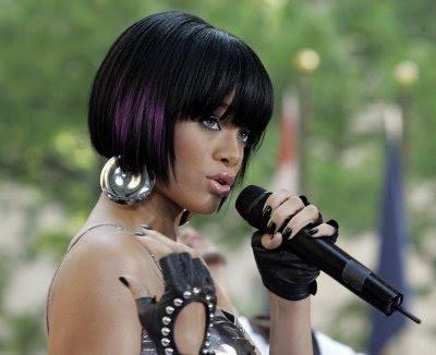 rihanna bob hairstyle. Rihanna#39;s bob
