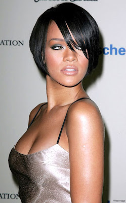 Rihanna Style Trends presents Rihanna sexy unique hairstyles