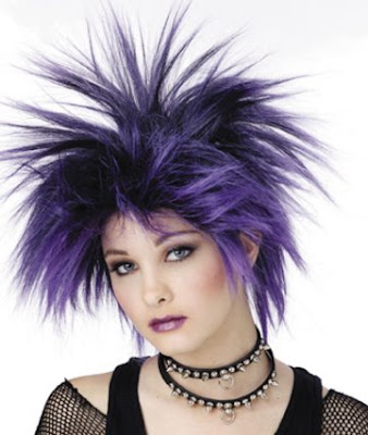 edgy prom hairstyles. Remember punk hair styles can
