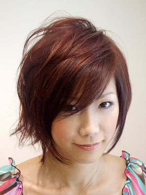 hairstyle round faces. short hairstyle for round face