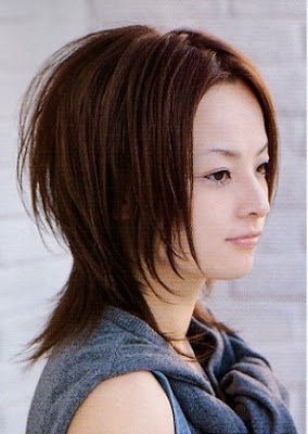 Modern Haircut - Hairstyles Girls Japanese 2010