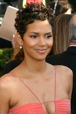 Halle Berry Hairstyles - Afro hairstyle fashion trends 2009 African