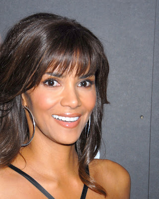 Wedding Hairstyles (5); Black Halle Berry Hairstyles - Afro hairstyle