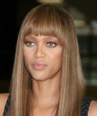 The millions of fans that adore Tyra Banks hairstyles have seen her as a