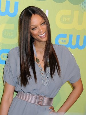 tyra banks hair colour. tyra banks hairstyles with