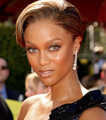 short hair styles for black women 2010. tyra banks hairstyles 2010.
