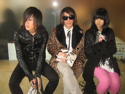 Japanese New Wave Hairstyles And Fashion for 2009