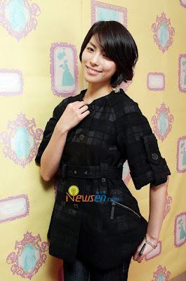 Asian Haircuts Kim Jung Hwa Cute short hairstyle 2010